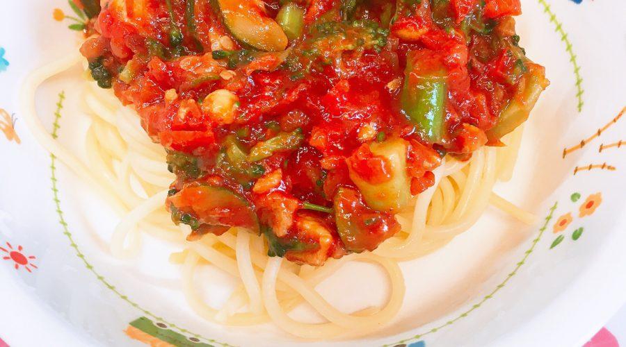 スパゲティ トマト